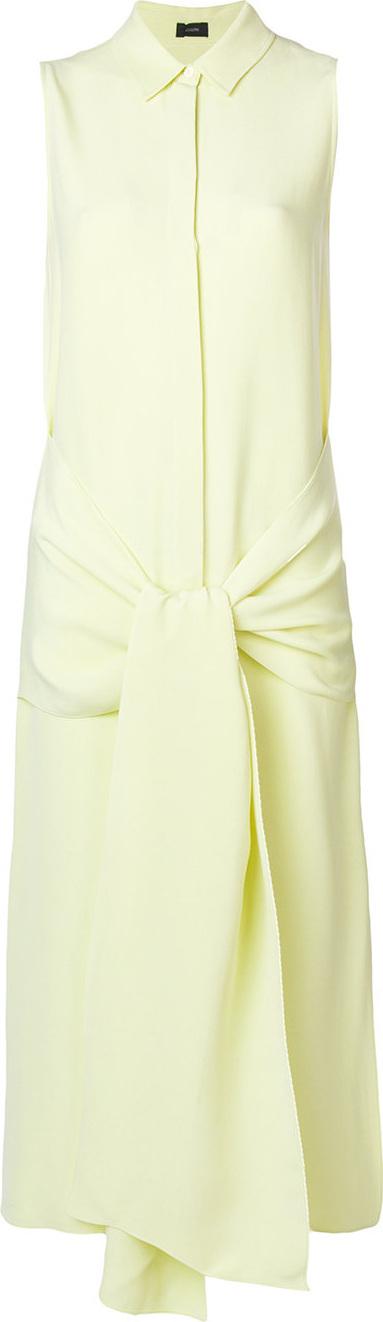 Joseph Knotted shirt dress