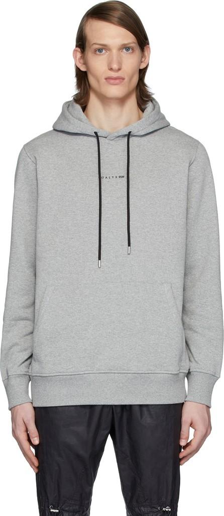 1017 ALYX 9SM Grey Logo Visual Hoodie