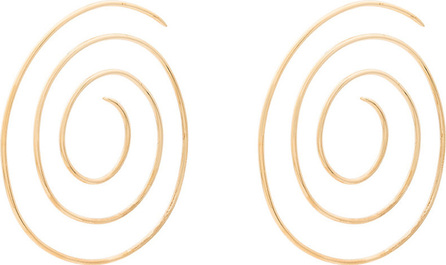 Beaufille Medium Gold Spiral Earrings