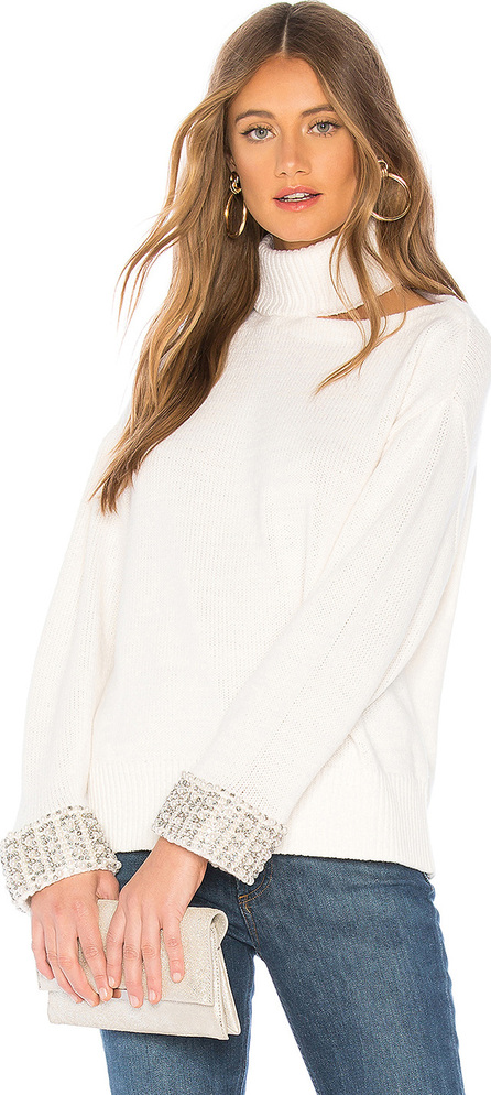 Alice + Olivia Gemini Turtleneck Sweater