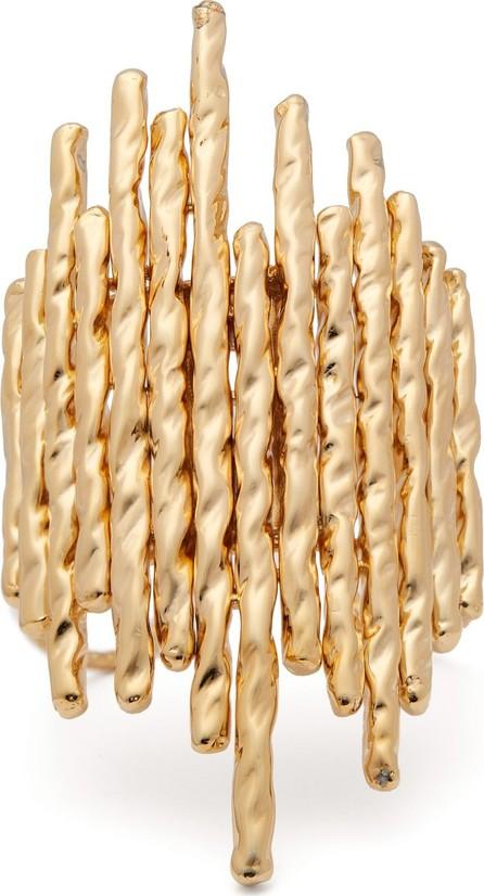 Attico Venini gold-plated bronze cuff