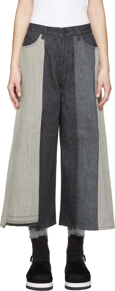 FACETASM Black Reworked Jeans