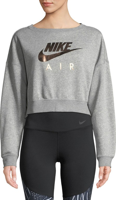Nike Air Cropped Athletic Sweatshirt
