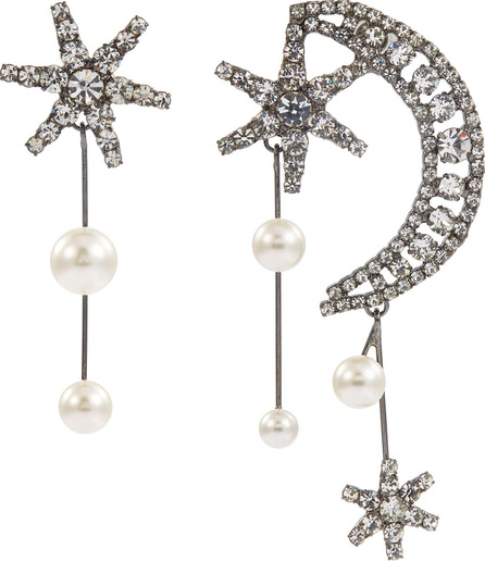 Jennifer Behr 'Cosmos' Swarovski crystal mismatched drop earrings