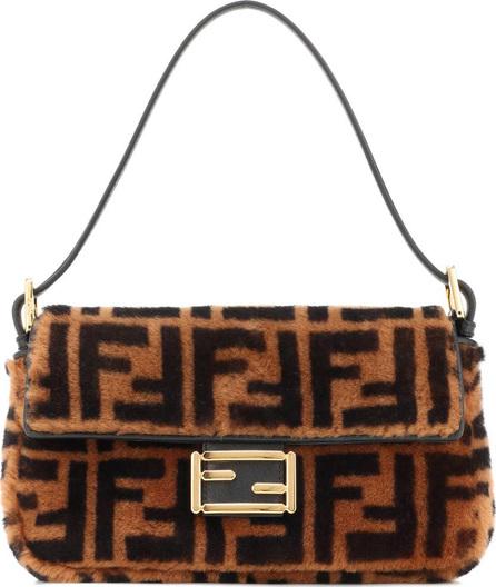 Fendi Baguette fur shoulder bag