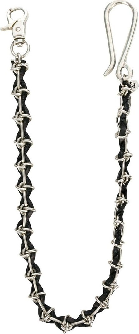 Andrea D'amico Twisted mixed material bracelet