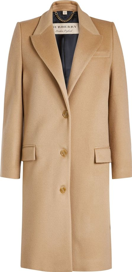 Burberry London England Fellhurst Wool Coat with Cashmere