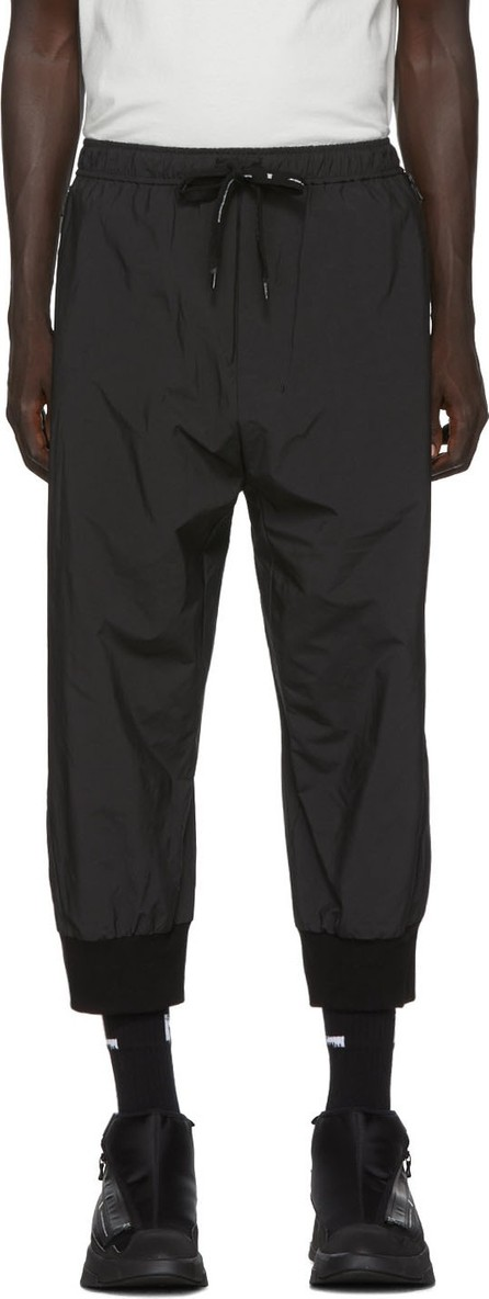Julius Black Taffeta Nilos Lounge Pants