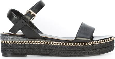 Lanvin Braided sole sandals