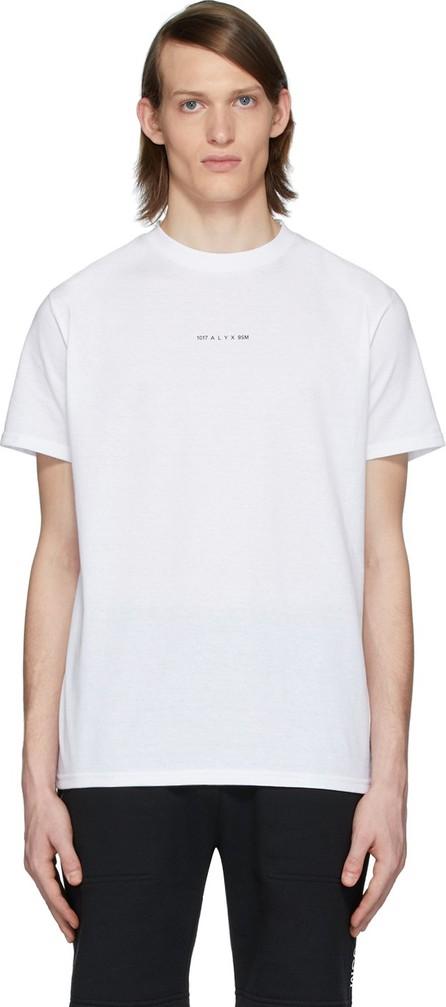1017 ALYX 9SM White Logo Visual T-Shirt