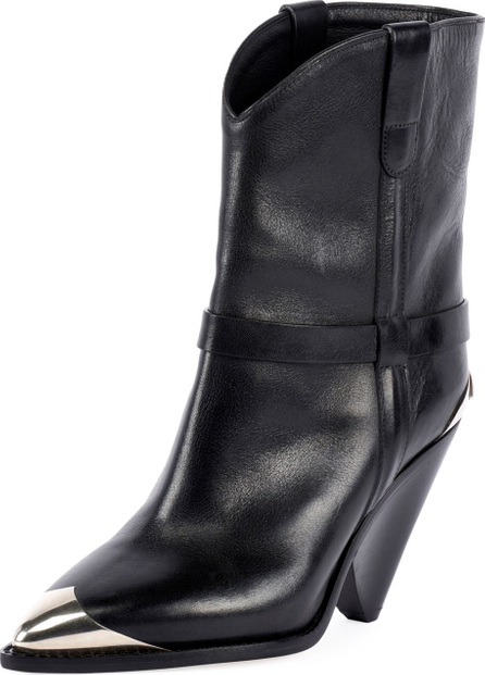Isabel Marant Lamsy Low Leather Western Boot