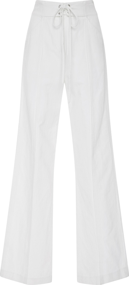 A.L.C. Archie High-Rise Cotton-Blend Wide-Leg Pants