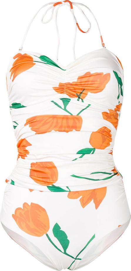 Ganni Floral print swimsuit