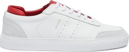 Axel Arigato 'Dunk' contrast collar leather sneakers