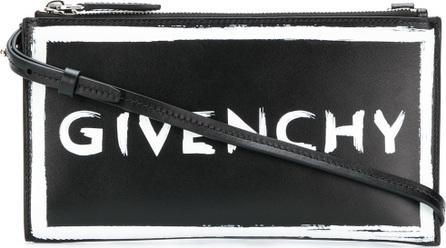 Givenchy Contrast logo clutch