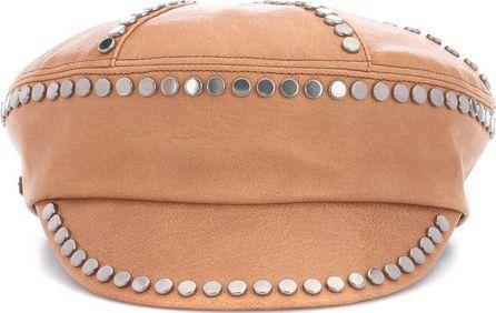Prada Embellished leather hat