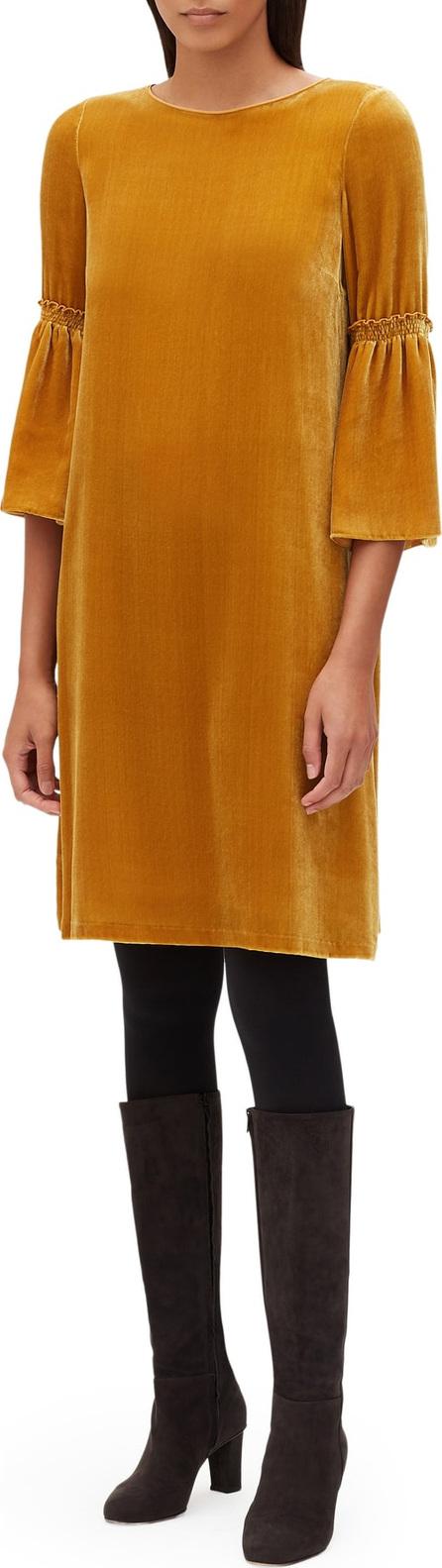 Lafayette 148 New York Roslin Velvet Dress