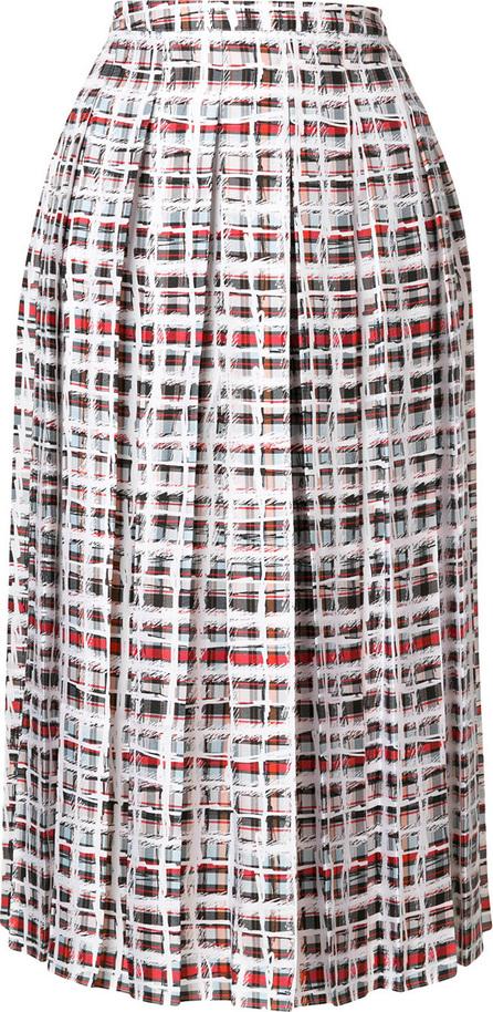 Burberry London England Checked pleated skirt