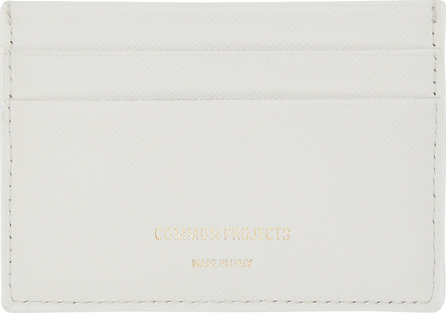 Woman by Common Projects White Saffiano Multi Card Holder