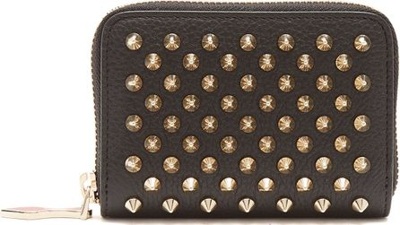 Christian Louboutin Panettone zip-around leather coin purse