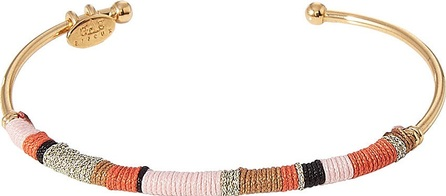 GAS Bijoux Zanzibar 24kt Gold-Plated Bangle Bracelet