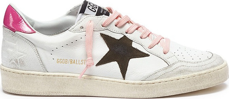 Golden Goose Deluxe Brand 'Ball Star' patch leather sneakers