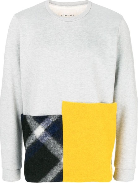 Corelate Patchwork jersey sweater