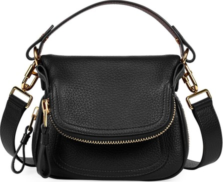 TOM FORD Jennifer Mini Grained Leather Shoulder Bag