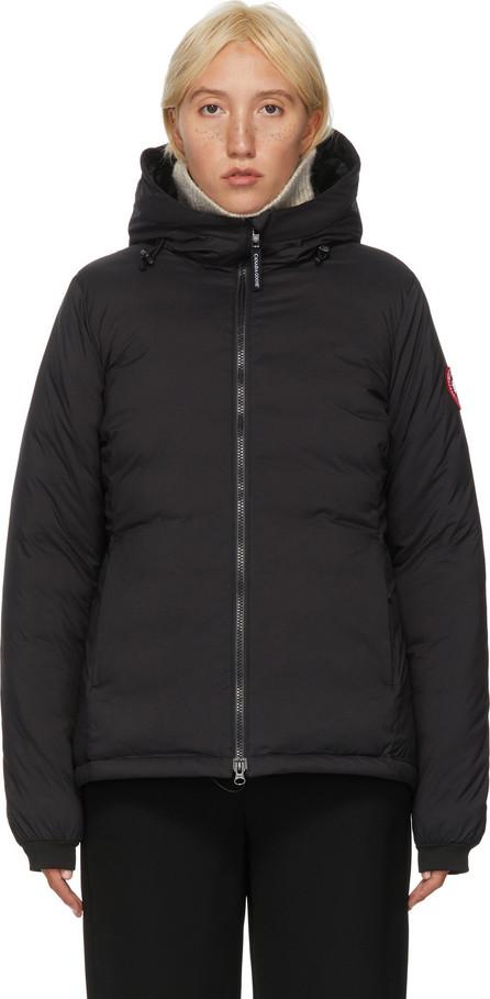 Canada Goose Black Down Camp Hoody Jacket