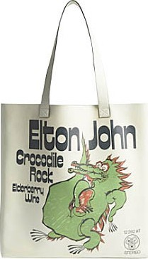 Gucci Gucci x Elton John Crocodile rock leather tote bag