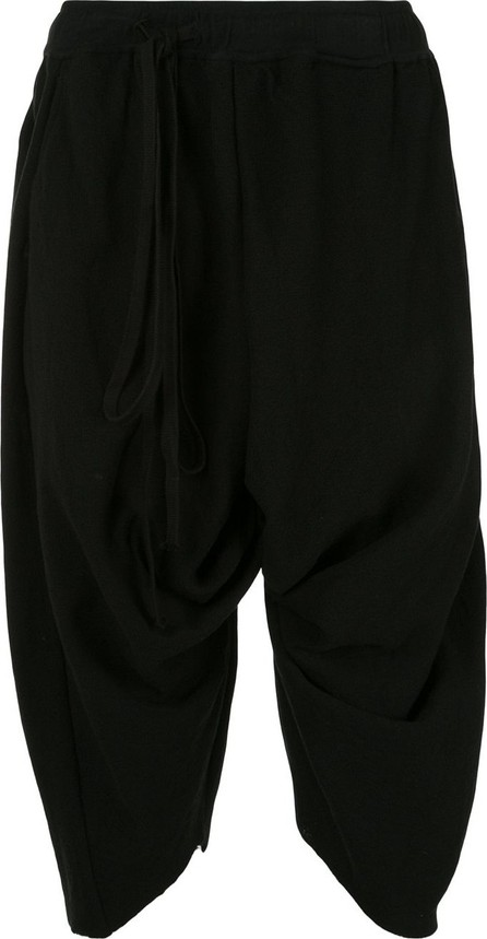 Julius Ruched style cropped track pants