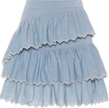 Ulla Johnson Ella embroidered cotton skirt
