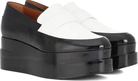 Robert Clergerie Lynn platform leather loafers