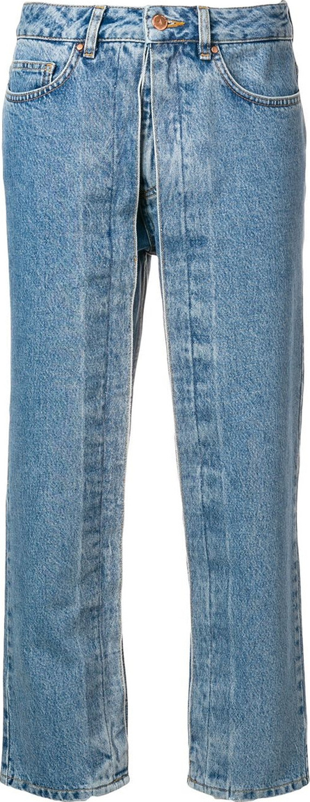 Aalto Layered cropped trousers