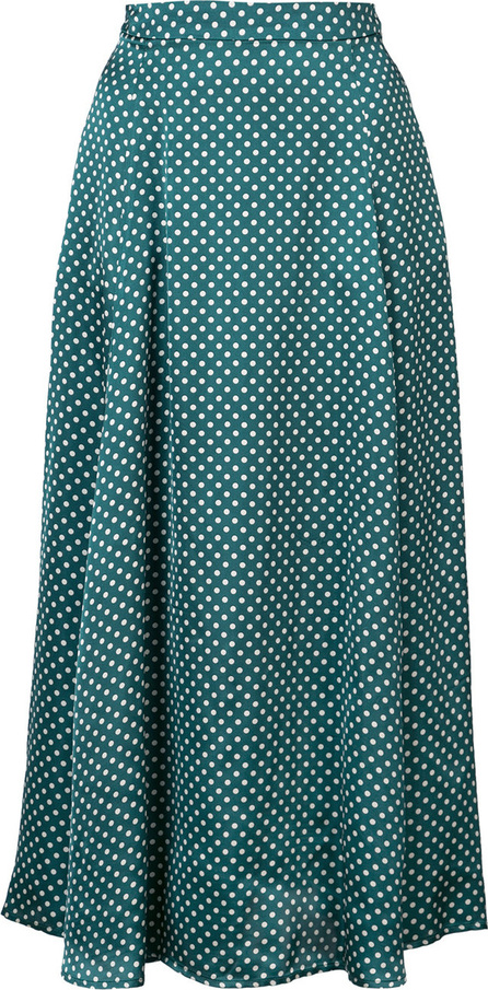 Alexa Chung High-waisted polka skirt