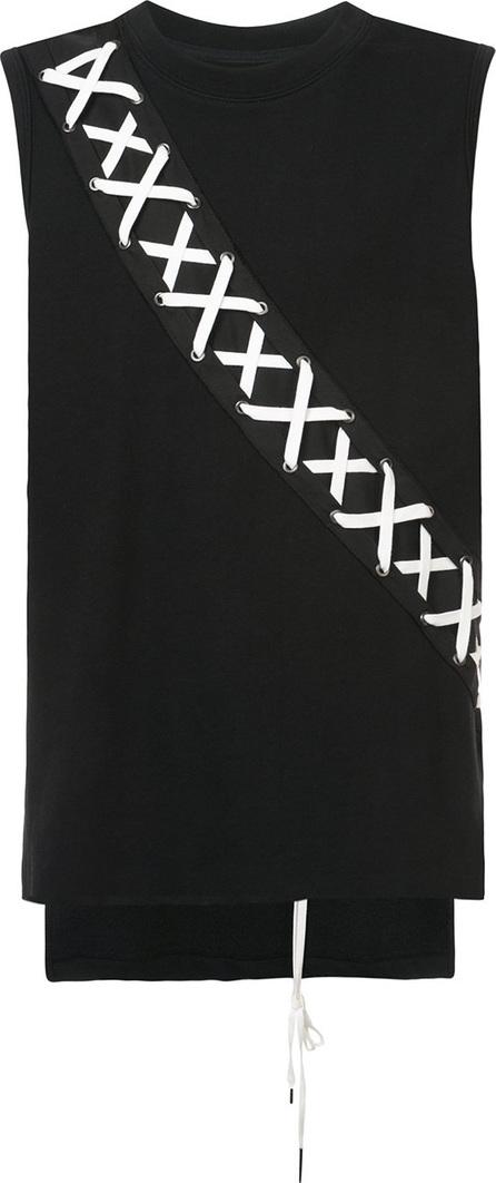 D.Gnak X-string panel tank top