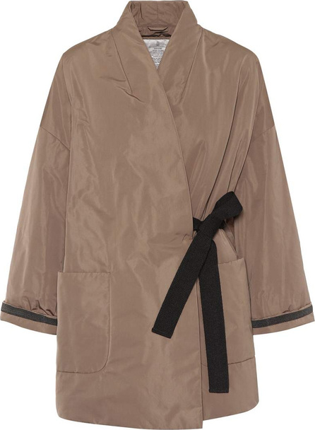 Brunello Cucinelli Silk-blend coat