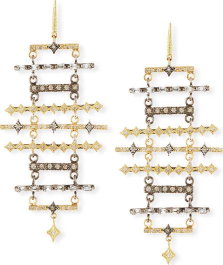 Armenta Old World Multi-Bar Chandelier Earrings