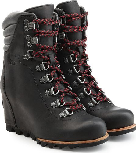 Sorel Leather Wedge Ankle Boots