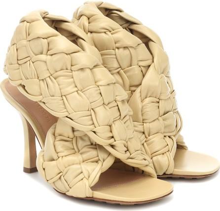 Bottega Veneta BV Board leather sandals