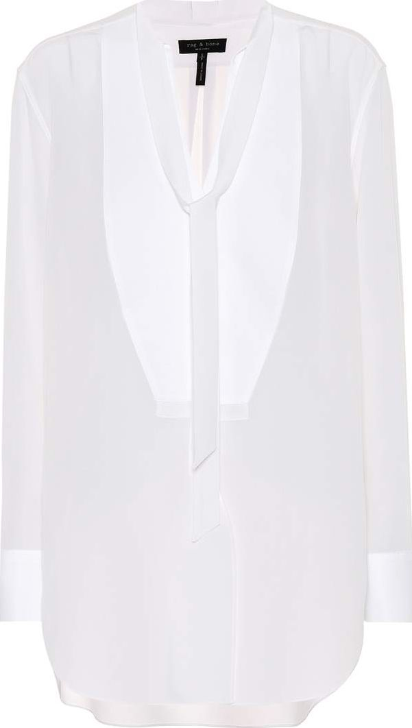 f43fda30a6b86 Rag   Bone Frida silk tuxedo shirt - mkt