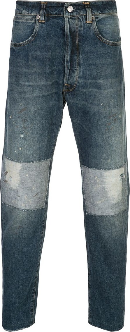 Golden Goose Deluxe Brand Patchwork tapered jeans