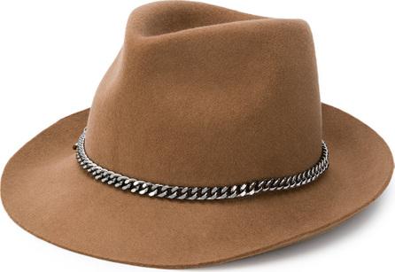 Stella McCartney Chain embellished hat
