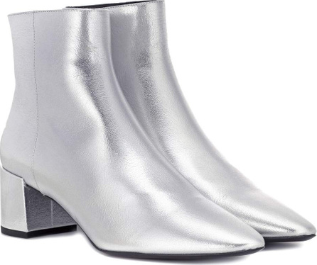 Saint Laurent Loulou 50 leather ankle boots