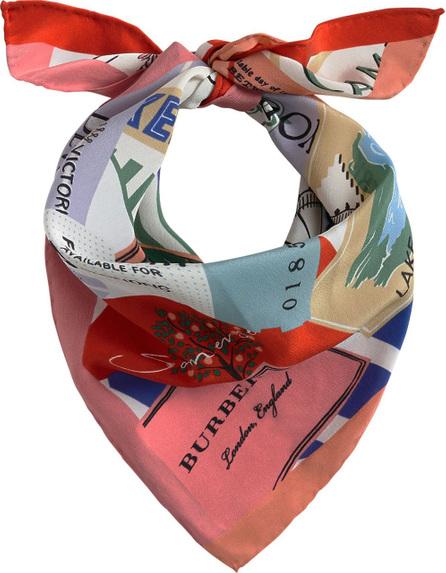 Burberry London England Ticket Stub print scarf