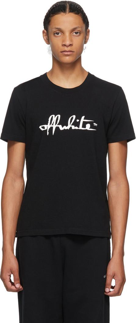 Off White Black Script T-Shirt