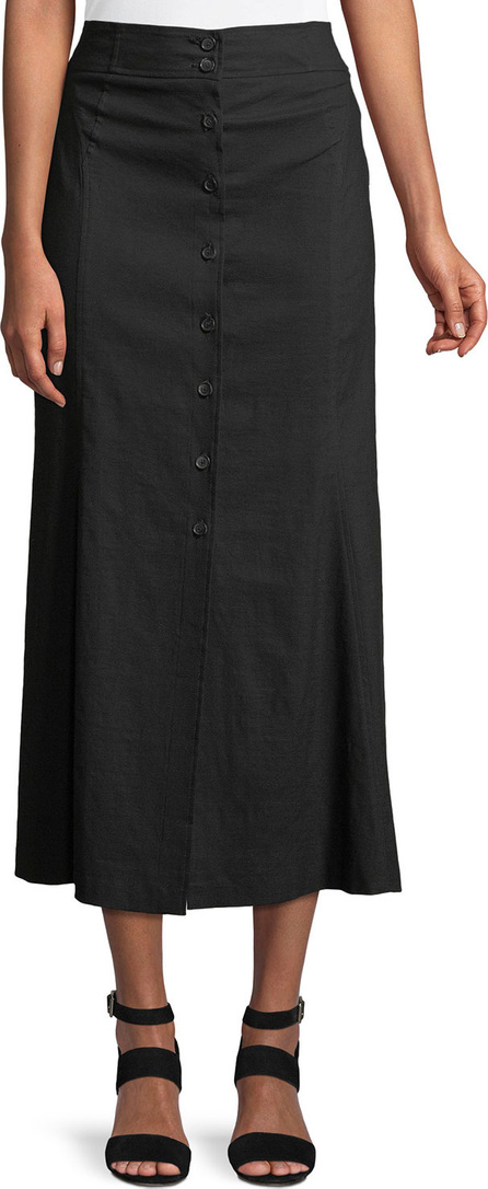 A.L.C. Amelie Button-Front Midi Skirt