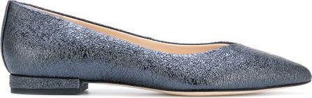 Anna Baiguera pointed toe ballerina shoes