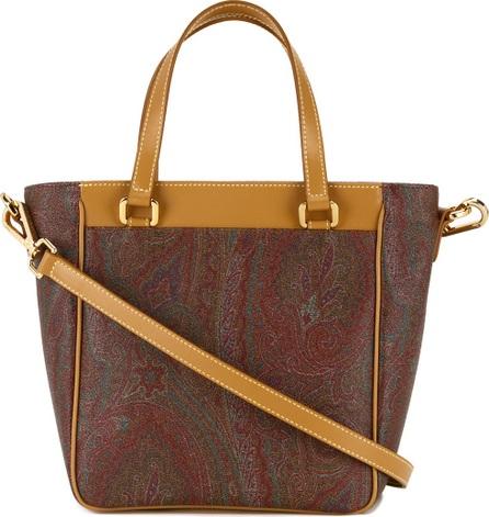 Etro trapeze bodied, paisley patterned shoulder bag