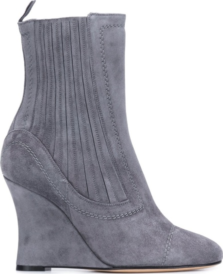 Alchimia Di Ballin ribbed wedge ankle boots